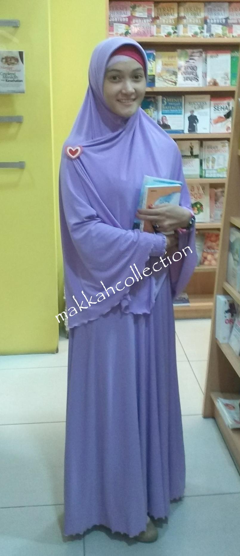 gamis syar i makkah collection nuansa biru